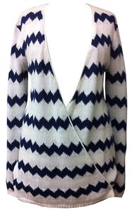 Anthropologie Chevron Long Willow & Clay Cardigan