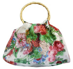 Christiana Beaded Floral Shoulder Bag