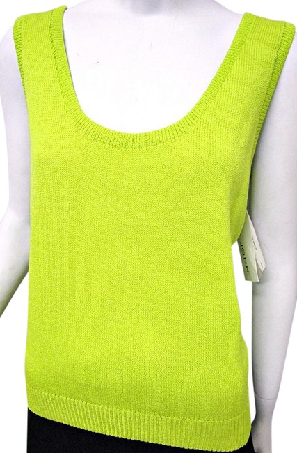 Preload https://img-static.tradesy.com/item/20410247/st-john-green-santana-knit-sleeveless-shell-l-large-14-tropic-gr-tank-topcami-size-12-l-0-1-650-650.jpg