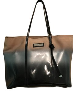 Jimmy Choo Tote in BLK. NAT. GN