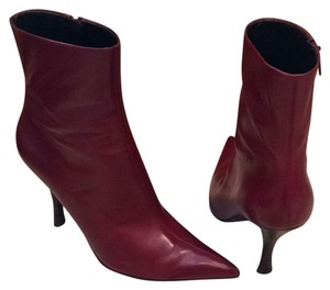 Nine West Leather red Boots