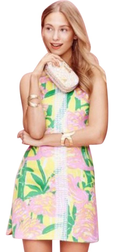 b1686041aac Lilly Pulitzer for Target short dress Pink yellow on Tradesy Image 0 ...