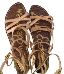 Sam Edelman Gold/Natural Sandals