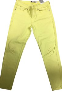 Levi's Skinny Legging Skinny Pants Yellow