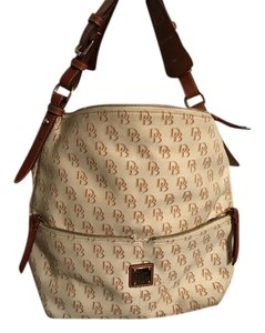 Dooney & Bourke White Vanilla Hobo Bag