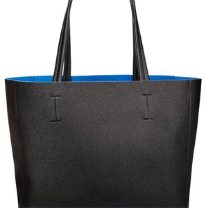 Macy's Tote in Black/Blue