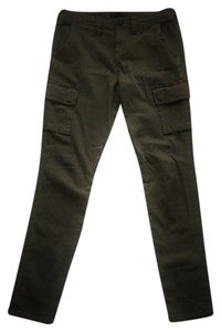 Sanctuary Clothing Stretchy Skinny Straight Skinny Pants Olive Green
