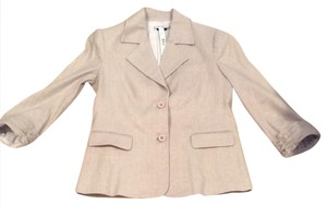 Alice + Olivia Tan with gold shimmer Blazer