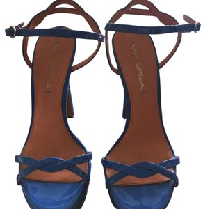 Via Spiga Cornflower Blue Platforms