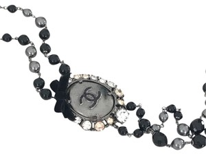 Chanel Chanel Pearls & Medallion Necklace