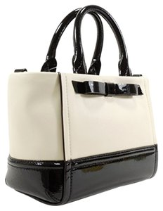 Kate Spade Satchel in Black and Ivory