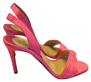 Christian Louboutin bright pink Sandals
