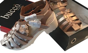 Bucco Rose Gold Sandals