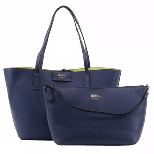 Guess Tote in Navy and Green