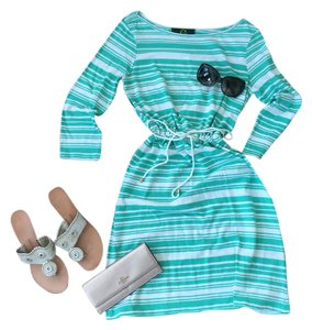 C. Wonder short dress Turquoise on Tradesy