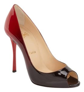 Christian Louboutin red black Pumps
