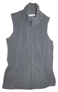 Old Navy Zipper Gray Vest