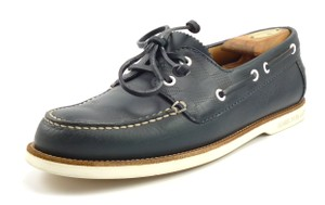 Louis Vuitton Men's Shoes Leather Boat Deck Oxfords