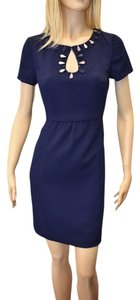 Trina Turk short dress NAVY BLUE on Tradesy