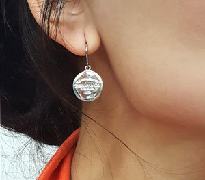 Tiffany & Co. Please Return To Tiffany Round Tags Dangling Earrings