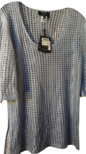 Item - Blue Perforated Tunic Size 10 (M)