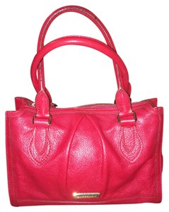 Burberry London Satchel in Red