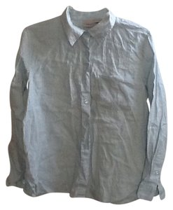 L.L.Bean Button Down Shirt light green