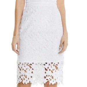 Vince Camuto Skirt White