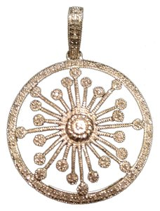 Leslie Greene Leslie Greene sterling diamond accent pendant