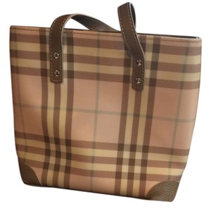 Burberry Tote in Pink Nova Check