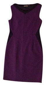 T Tahari Flattering Slimming Zipper Dress