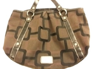 Nine West Metro Print Designer Vinyl Hobo Bag