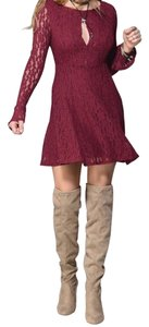Free People Teen Witch Lace Small Dress