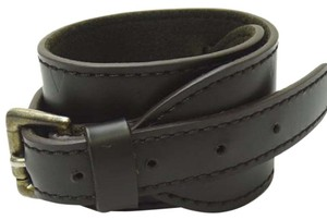 Louis Vuitton Monogram Noir Force Cuff Bracelet