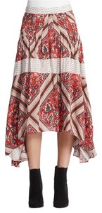 Free People Skirt Multicolor
