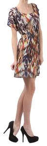 Lush short dress Mulicolor Open Sleeve Colorful Party on Tradesy