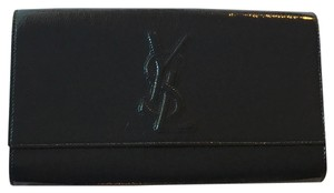 Saint Laurent Dark Navy Clutch