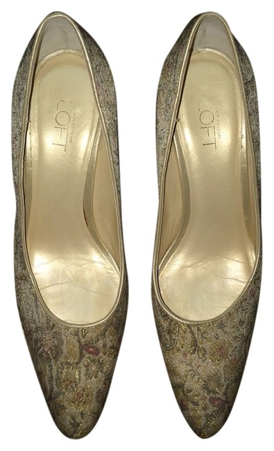 Item - Gold Formal Shoes Size US 6.5 Narrow (Aa, N)