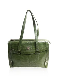 Diane von Furstenberg Dvf Dvf Laptop Embossed Croc Laptop Bag