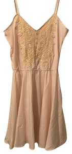 Piperlime short dress Cream on Tradesy
