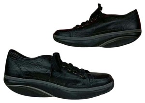 MBT Leather Black Athletic