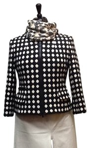 Jones New York black and white Blazer