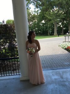 Bill Levkoff Petal Pink Bridesmaid Dress Style 1130 Dress