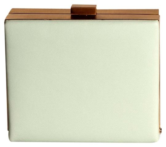 Street Level Crossbody Summer Leather Mint green Clutch