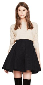 Maje High Waist Skirt Black