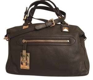Michael Kors Collection Satchel in Deep forest green