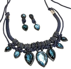 Lanvin Lanvin Oversized Statement Necklace & Earrings