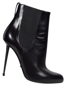 Tom Ford Gun Metal Stiletto Black Boots