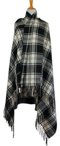 J.Crew NEW!! Tags Plaid Giant Check Fringe Large Wrap Scarf