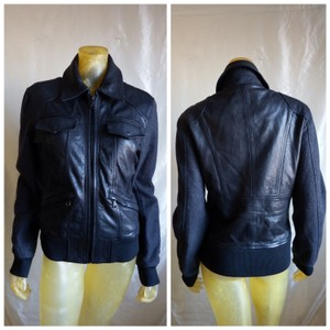 Dolce&Gabbana Wool & Leather Jacket